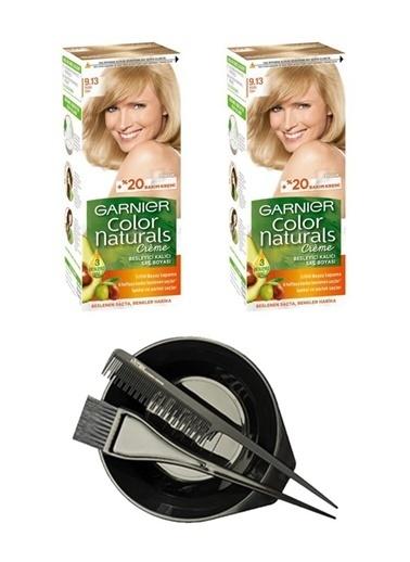 Garnier Garnier Color Naturals Saç Boyası 9.13 + Saç Boyama Seti Renksiz